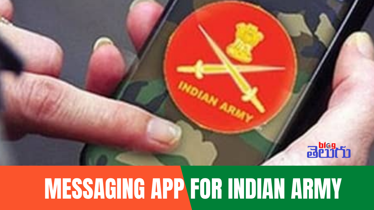 Messaging App for Indian Army